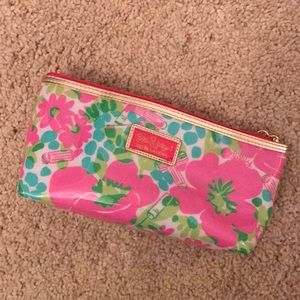 Lilly x Estee Lauder pouch